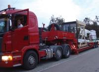 Transport Mit Lkw Tieflader Krauss Gmbh